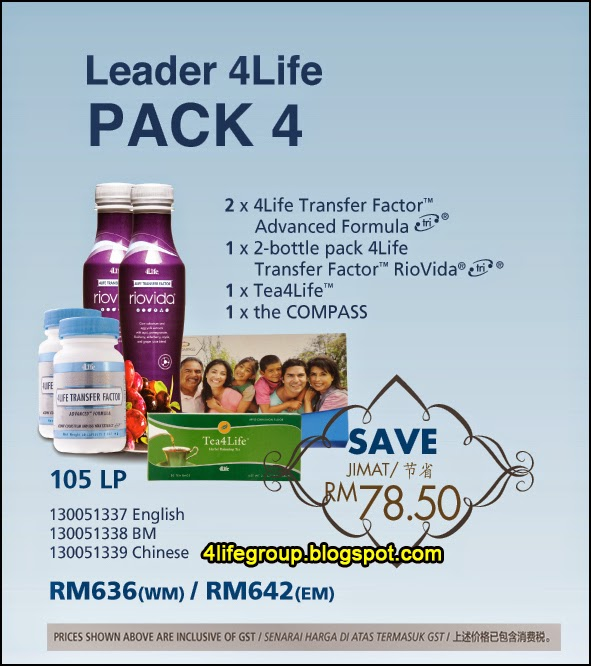 foto Leader 4Life Pack 4 4Life Malaysia