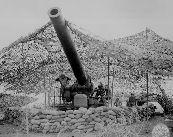 Batalla de Alamein, artilleria