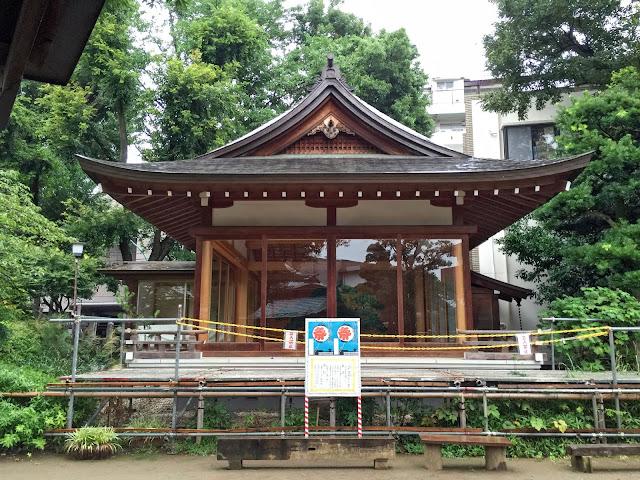 鳩森八幡神社,神楽殿,千駄ヶ谷〈著作権フリー無料画像〉Free Stock Photos