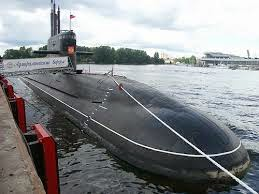 Russian Submarine Amur 1650