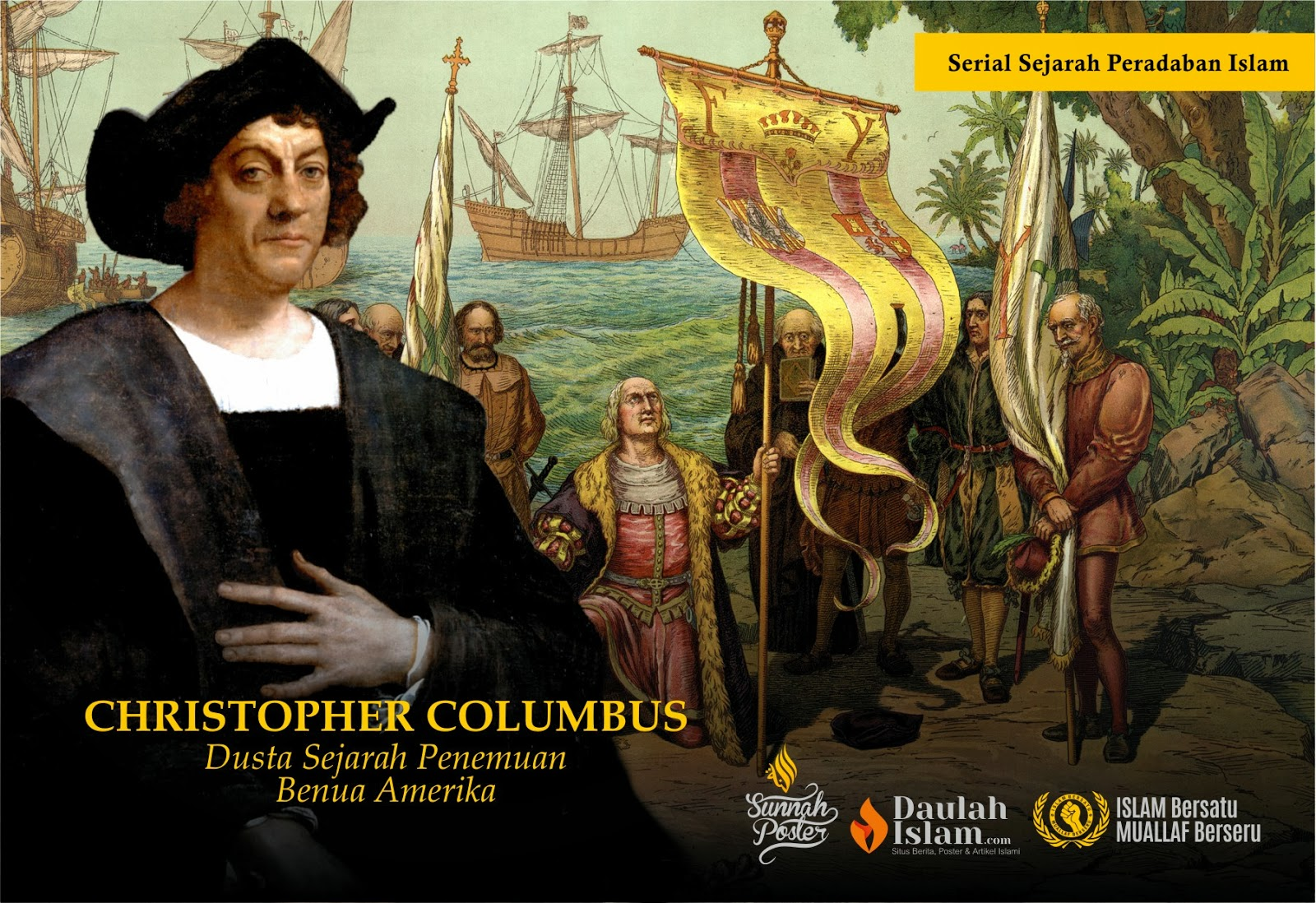 YB1BWI: Kebohongan Amerika tentang Christopher Columbus Ery Ridwan Latief Kebohongan Amerika tentang Christopher Columbus