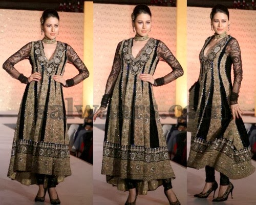 Bridal Salwar in Black