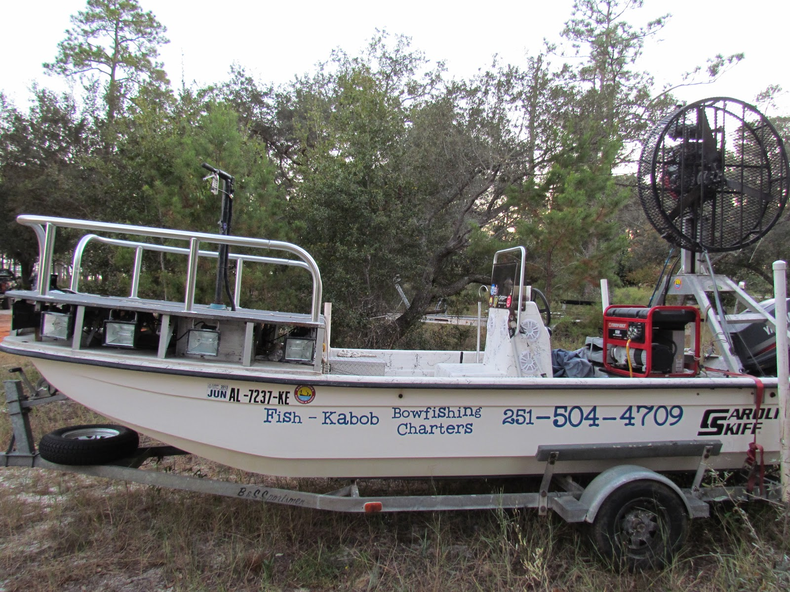 Bowfishing Boat For Sale Fan