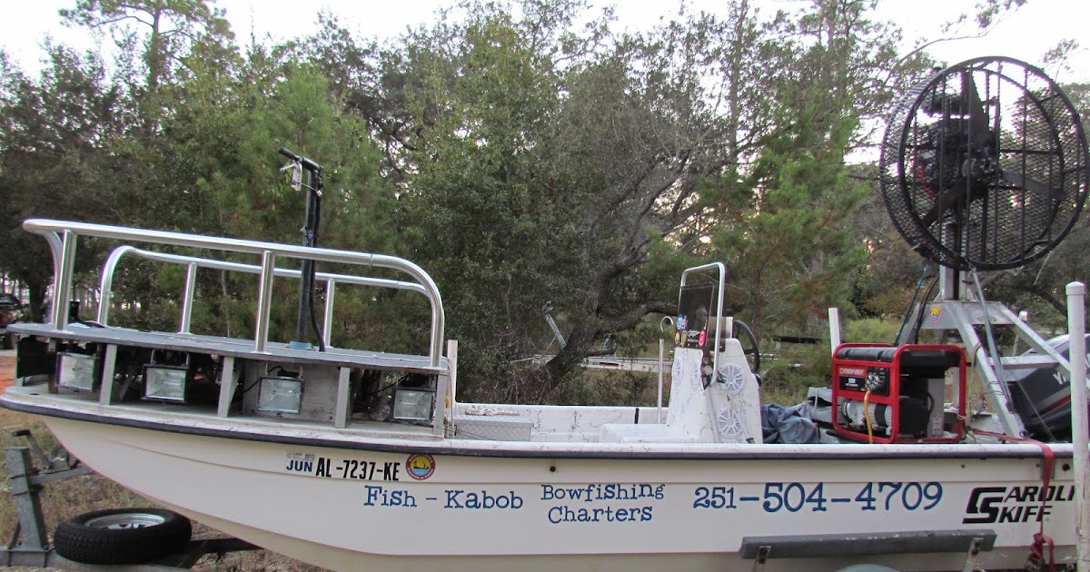 how to build a fan boat for bowfishing