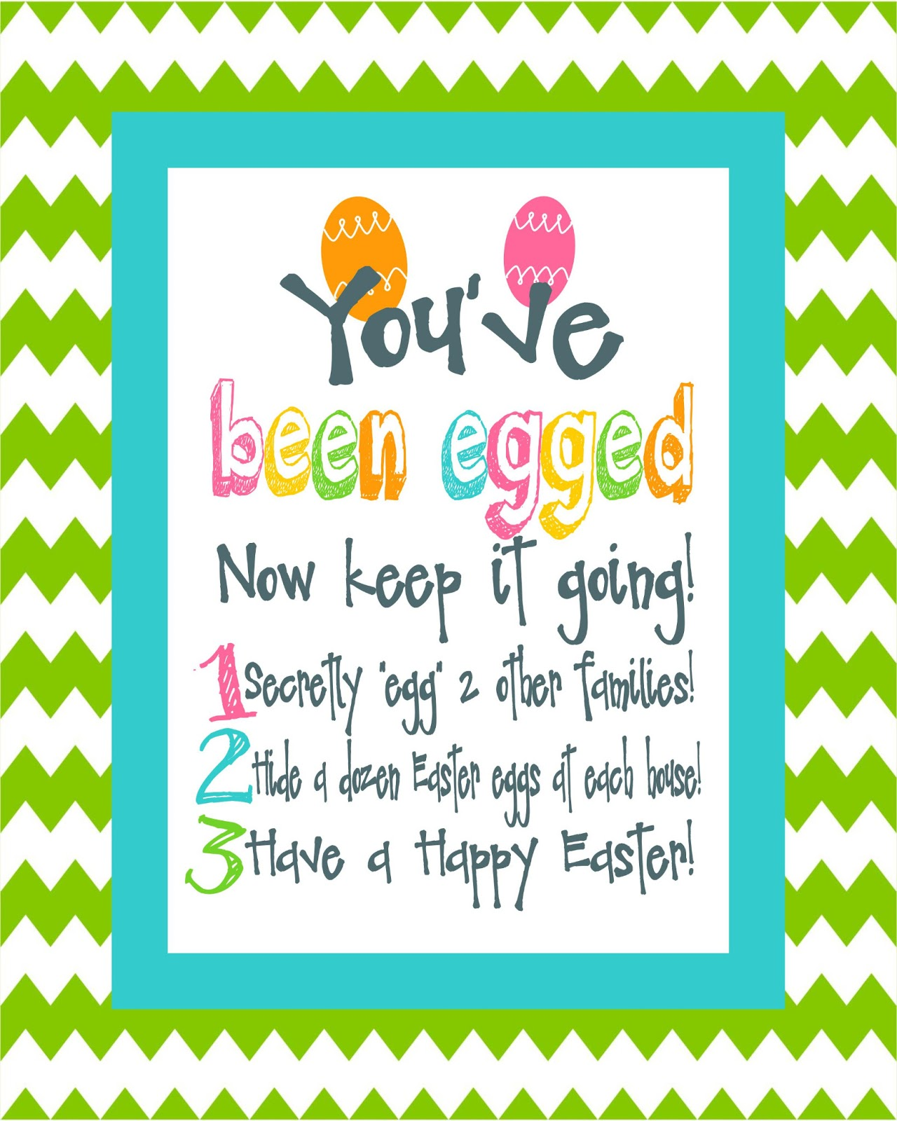 Nerdy image with you ve been egged printable