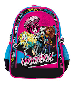 plecak monster high, tornister monster high, torebka monster high