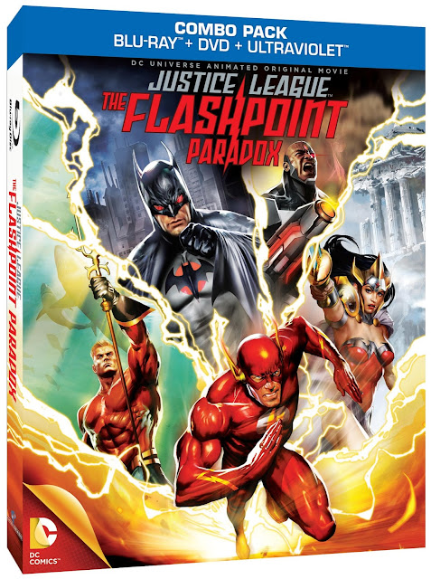 Justice League:  The Flashpoint Paradox DVD cover