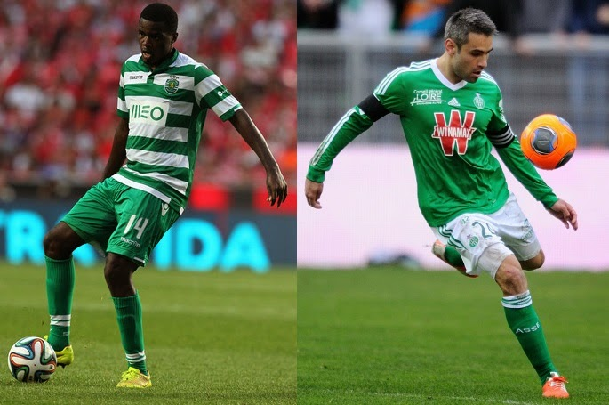 Arsenal set for Carvalho and Perrin deal