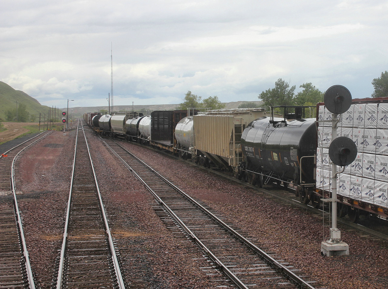 Jersey mikes rail adventures 11 06 17 photos montana flood plains havre is a major railroad town on the hi line sporting both a freight yard and large locomotive servicing facility for the empire builder it is a servicing sciox Choice Image