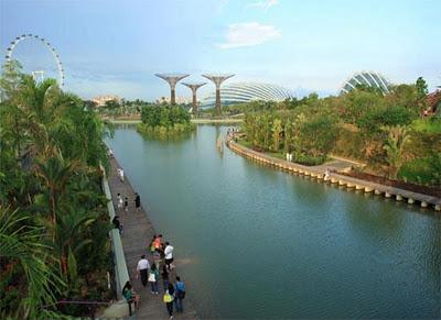 Go green for life tempat wisata alam buatan