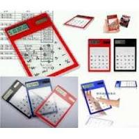 Kalkulator Touch Screen Transparan