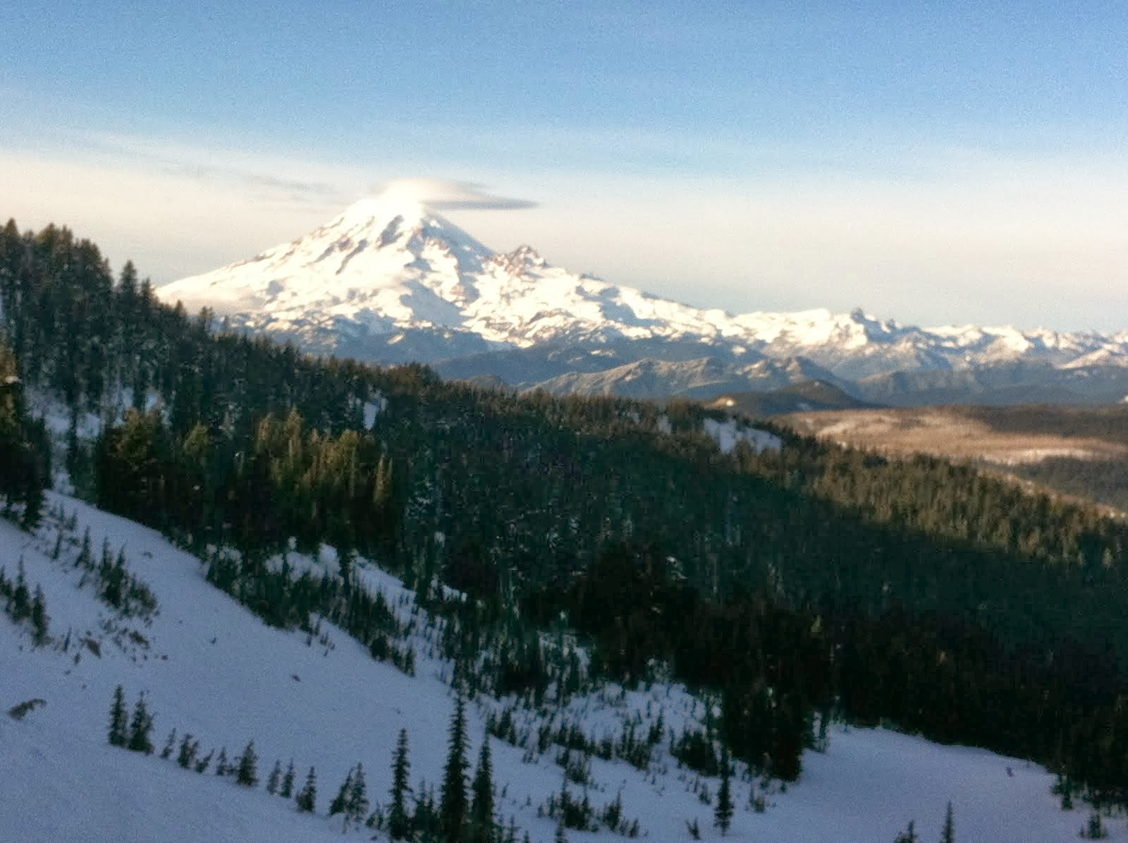 Mt. Rainier from Paradise Basin