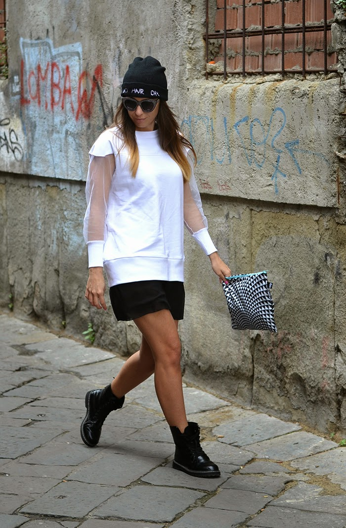 mini dress streetstyle