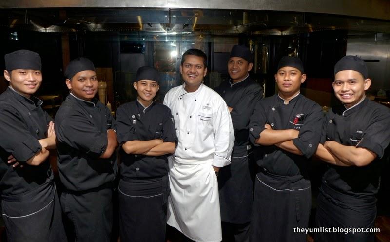 Chambers, MIGF Menu 2014, Hilton Kuala Lumpur Hotel