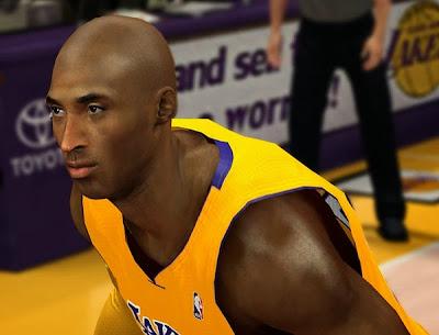 NBA 2K14 Kobe Bryant Cyberface Mod