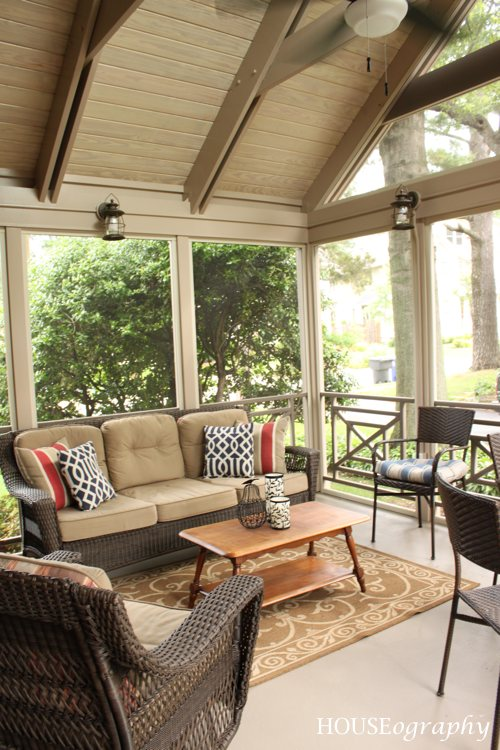 Houseography Screen Porch Furniture And More