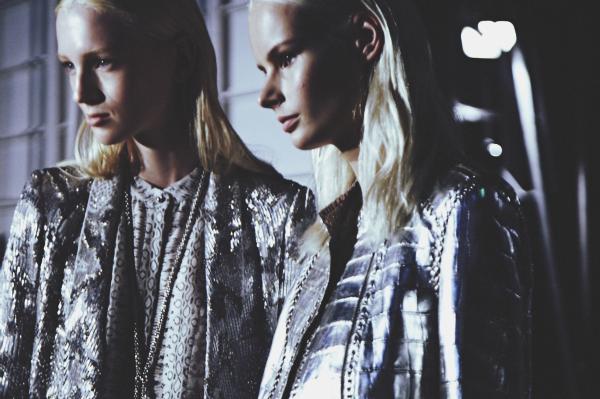 {fashion inspiration | places : backstage at roberto cavalli}