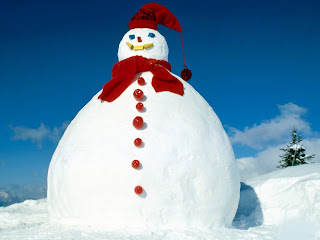 Free Download Big Snowman Wallpaper