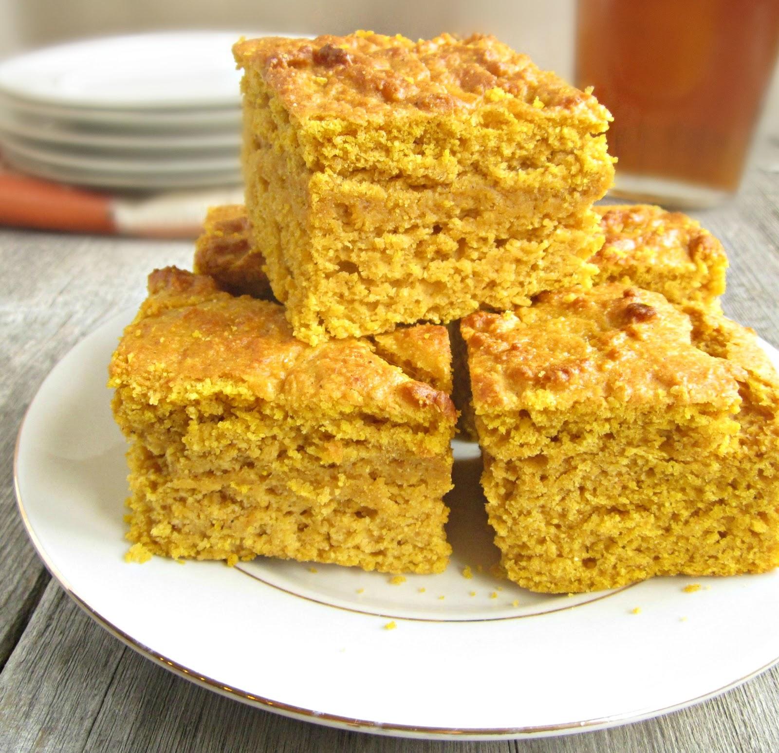 Hungry Couple: Moist Pumpkin Cornbread