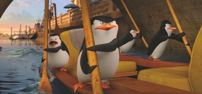 Capitão, Kowalski, Rico e Recruta no segundo trailer completo de Pinguins de Madagascar