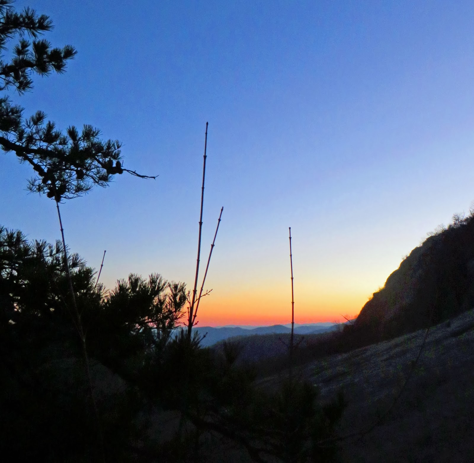 Old Rag Mountain Hikes/Patrols By RSL: January 2014