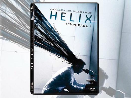Concurso 'HELIX': Tenemos la primera temporada en DVD para vosotros