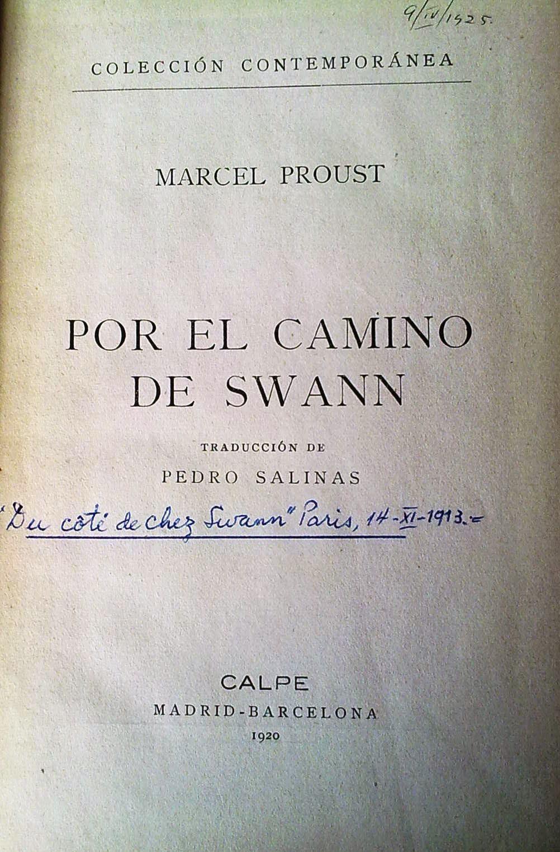 El Ni O Vampiro Lee Por El Camino De Swann