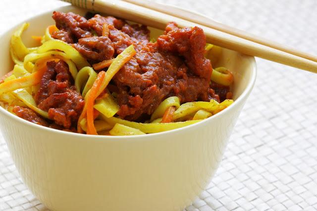 Wołowina po chińsku - obiad w 15 minut