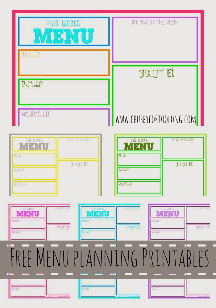 "Search Results for ""Menu Planning Printables"" – Calendar 2015"