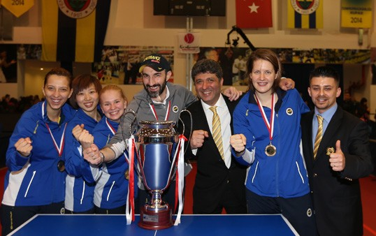 2015 Kadınlar Masa Tenisi Avrupa Şampiyonu