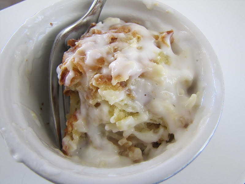 Adventures in Food: Coconut Bread Pudding with Coconut Cream Sauce
