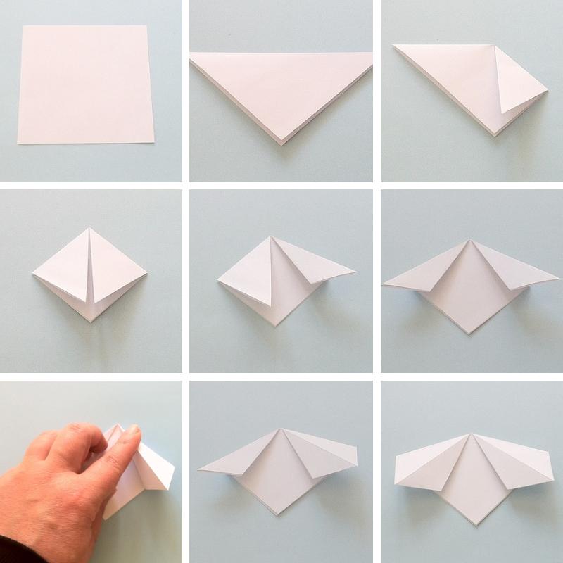 Fiori di carta origami me creativeinside