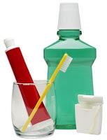 pasta dental enjuague bucal higiene dental