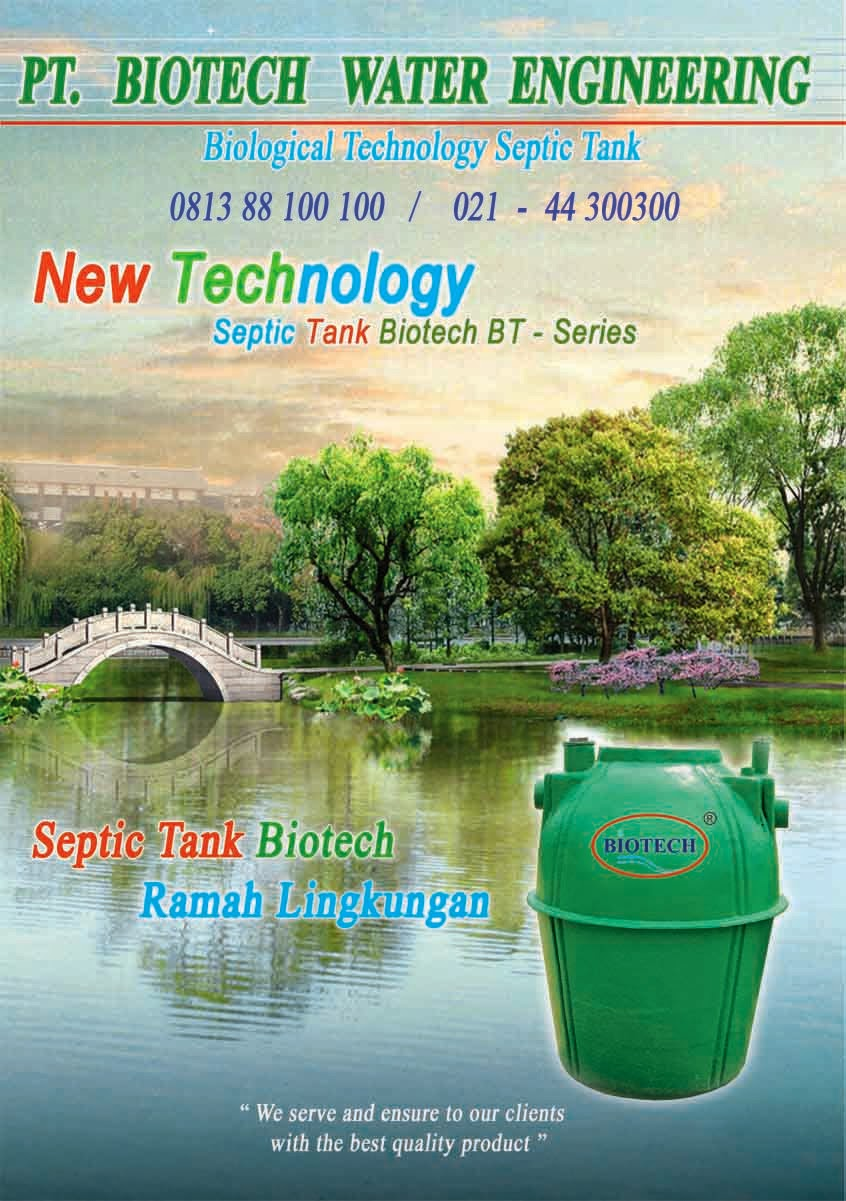 brosur septic tank biotech, katalog, ipal, stp, biofil, biogift, biofive, induro