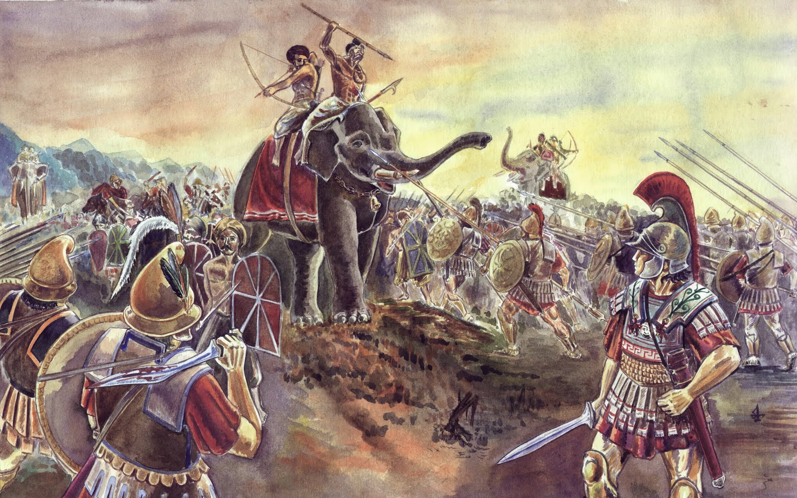 alexander the great battle lost in India