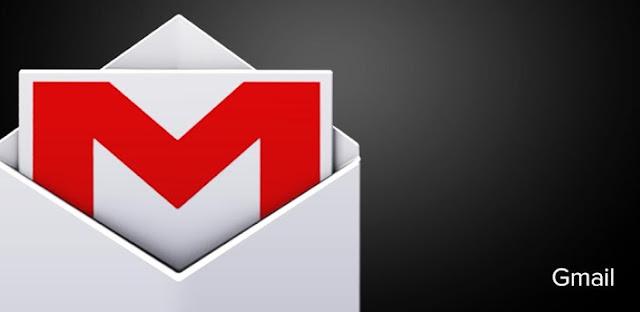 logo gmail rosso e bianco