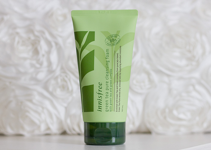 Innisfree Green Tea Pure Cleansing Foam Review Korean Skincare
