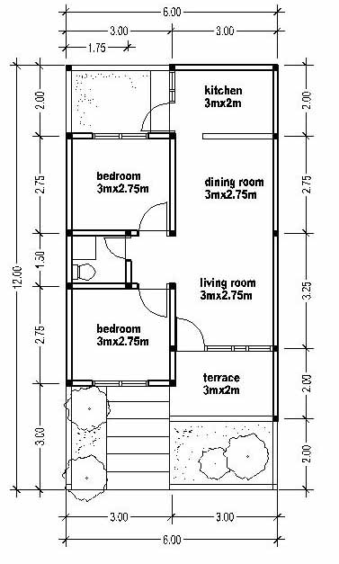 Small And Simple House Plans on tiny house floor plans