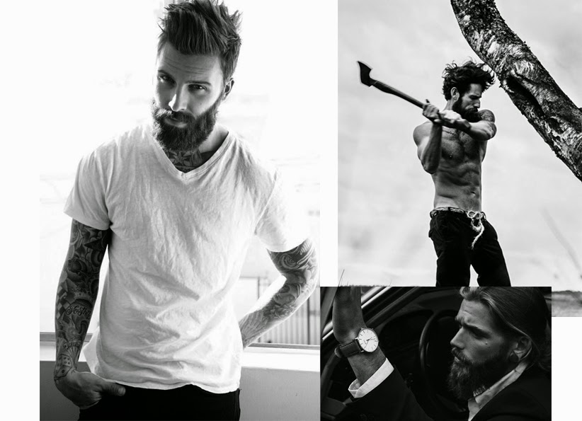 men beard trend