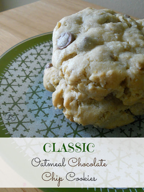 classic oatmeal chocolate chip cookies (sweetandsavoryfood.com)