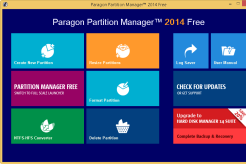 Paragon Partition Manager 2014 Free Edition 10.1