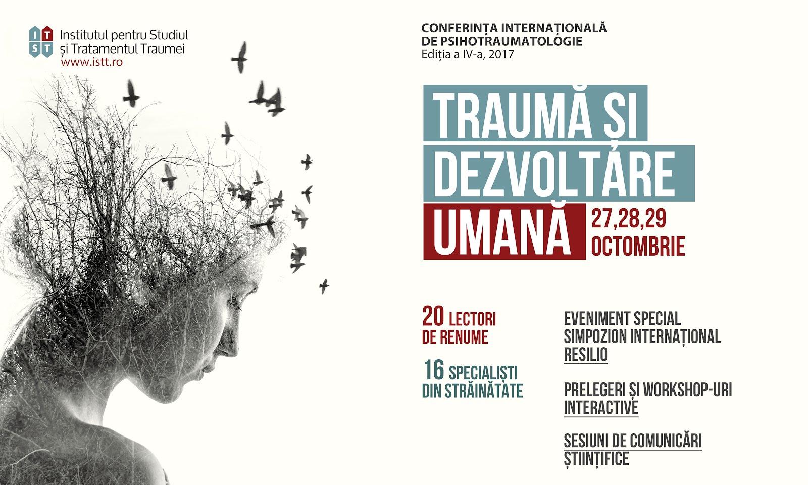 Conferință despre traumă