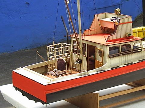 """""""Orca"""" Model Boat From JAWS ~ My Hobby Pages"""