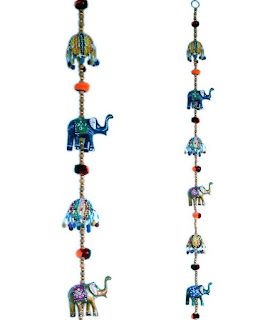 Rajasthani Door Hanging Elephant Handicraft