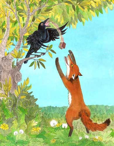 the fox and the crow Read the fox and the crow- cultural analysis from the story contradiction a million & one by dreamingattwilight (nya velasquez) with 794 reads argumentative.