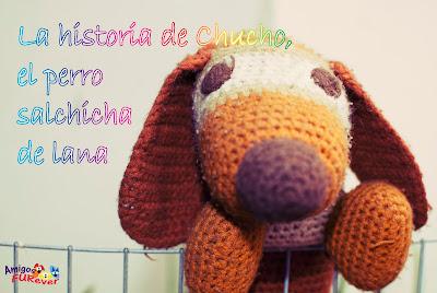 perro, muñeco, lana, salchicha, basset, handmade