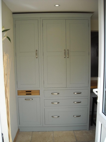 Farrow and Ball Light Blue painted furniture