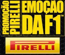 Promoção emoção da F1 Pirelli