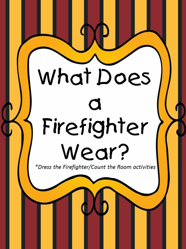 http://www.teacherspayteachers.com/Product/What-Does-a-Firefighter-Wear-1569197