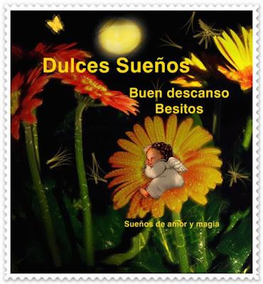 postales para enviar de dulces sueños